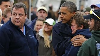Governor Chris Christie, President Barack Obama, New Jersey Resident